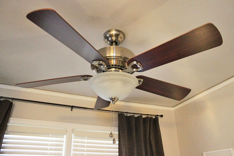 ceiling fan, cooling, energy use, AC myths, air-conditioning
